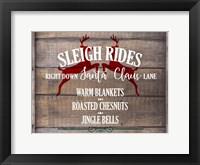 Framed Sleigh Rides