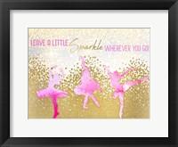 Framed Leave a LIttle Sparkle v2