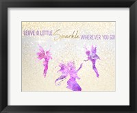 Framed Leave a LIttle Sparkle v3