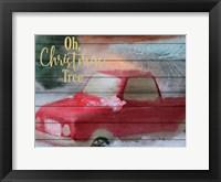 Framed Oh Christmas Tree