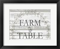 Framed Farm to Table Wreath