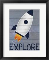 Space Explorer 1 Framed Print