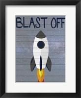 Space Explorer 2 Framed Print