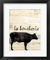 Framed French Kitchen 1