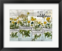Framed Wildflower Jar 6