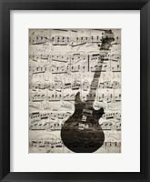 Framed Music Sheets 3