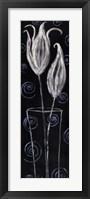 Framed Tulip Swirl