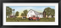 Framed Summer on the Farm