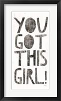 Framed You Got This Girl