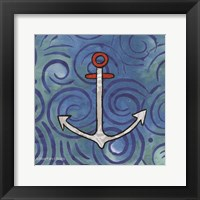 Framed Whimsy Coastal Anchor
