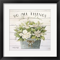 Framed Do All Things with Great Love