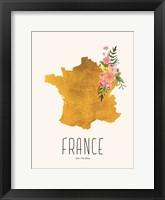 Framed Gold France