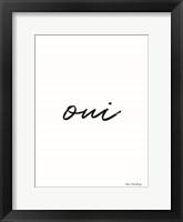 Framed Oui II