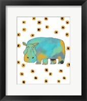 Framed Hippo