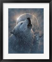 Framed Wolf Eclipse