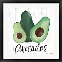 Framed Avocados