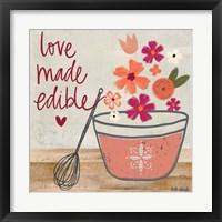 Framed Love Made Edible