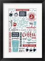 Framed Coffee Collage