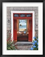 Framed Beach House Entry