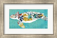 Framed Sea Turtle