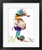 Framed Sea Horse III