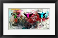 Framed Martini Glasses