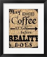 Framed Coffee III