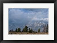 Framed Teton Rainbow