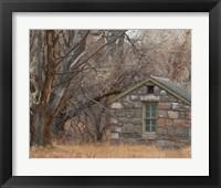 Framed Stone Cabin