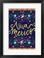 Framed Viva Mexico