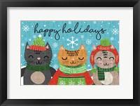 Framed Happy Holidays