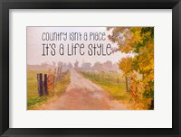 Framed Country Style