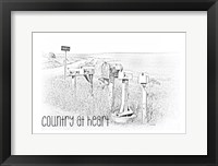 Framed Country at Heart