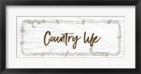 Framed Country Life