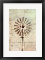 Framed Windmill Abstract