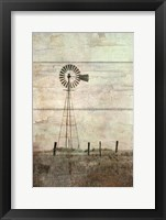 Framed Windmill on a Hill