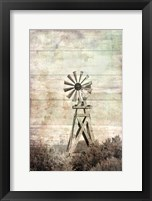 Framed Windmill Silent