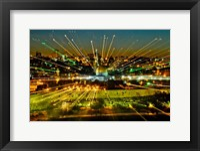 Framed Jerusalem Points of Light