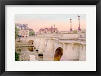 Framed Paris at Dawn