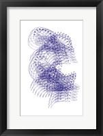 Framed Abstract Birds IV