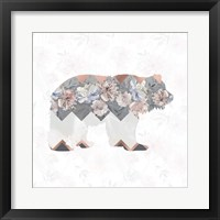 Framed Square Bear