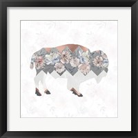 Framed Square Buffalo
