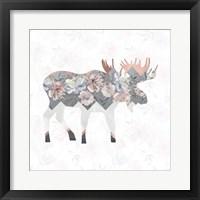 Framed Square Moose
