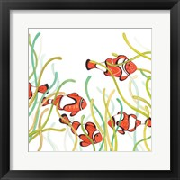 Framed Orange Fish
