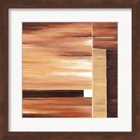 Framed Contemporary Cinnamon II