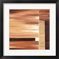 Framed Contemporary Cinnamon II