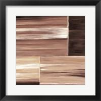 Framed Contemporary Cinnamon III