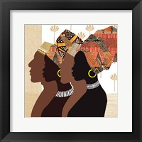 Framed African Men and Women