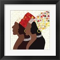 Framed African Men and Women II