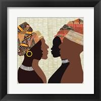 Framed African Men and Women III